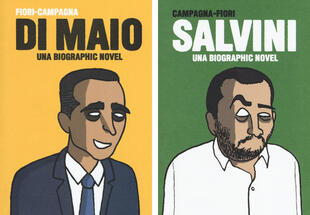 copertina Salvini-Di Maio. Una biographic novel