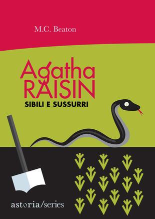 copertina Agatha Raisin – Sibili e sussurri