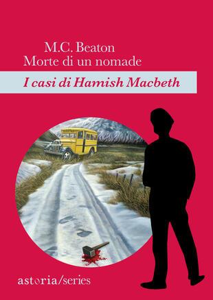 copertina Morte di un nomade