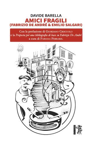copertina Amici fragili (Fabrizio De André & Emilio Salgari)