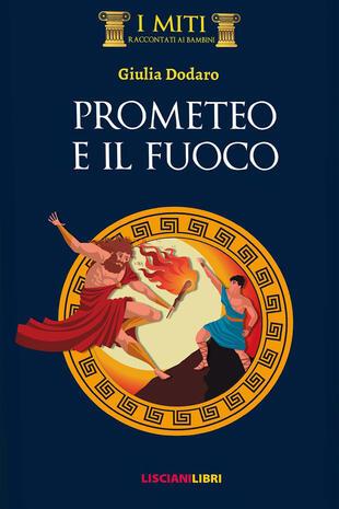 copertina Prometeo e il fuoco