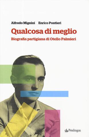 copertina Qualcosa di meglio. Biografia partigiana di Otello Palmieri