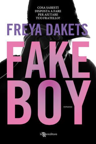 copertina Fake boy