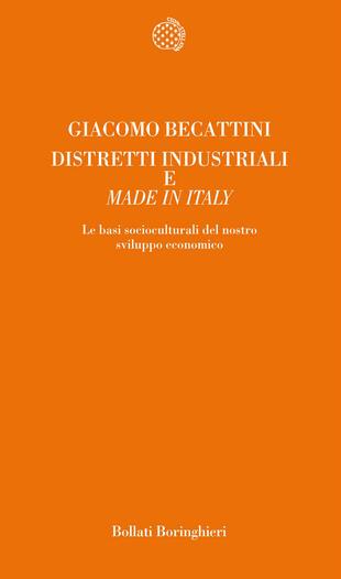 copertina Distretti industriali e made in Italy