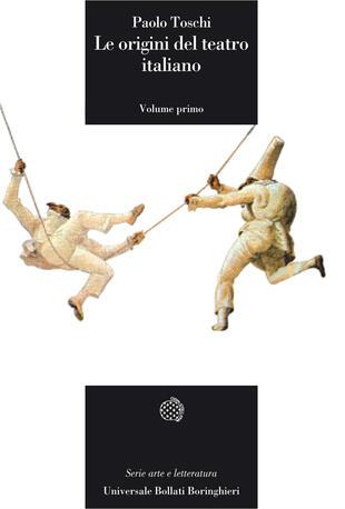 copertina Le origini del teatro italiano