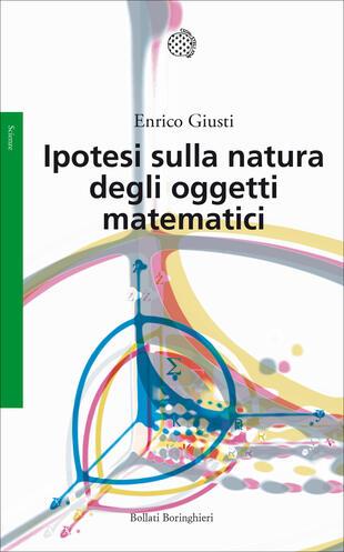 copertina Ipotesi sulla natura degli oggetti matematici