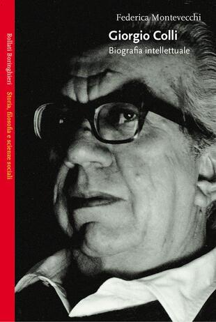 copertina Giorgio Colli