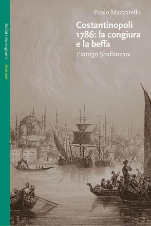copertina Costantinapoli 1786: la congiura e la beffa