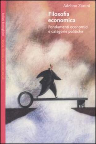 copertina Filosofia economica