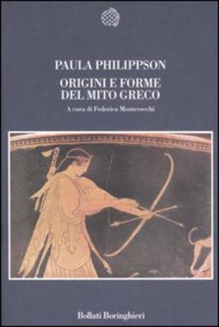 copertina Origini e forme del mito greco