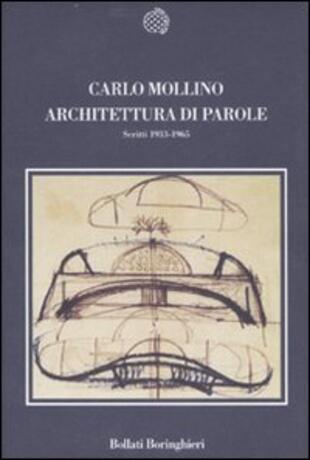 copertina Architettura di parole