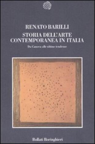copertina Storia dell'arte contemporanea in Italia