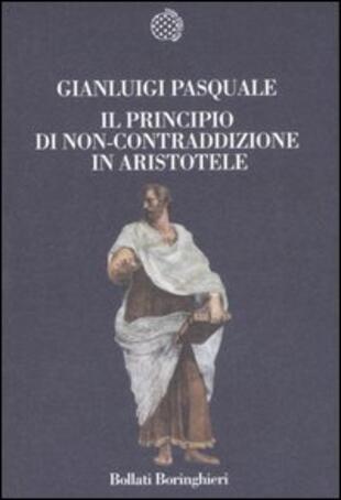 copertina Il principio di non contraddizione in Aristotele