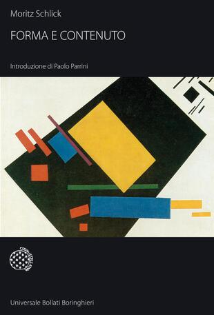 copertina Forma e contenuto