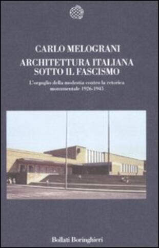 copertina Architettura italiana sotto il fascismo