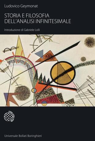copertina Storia e filosofia dell'analisi infinitesimale