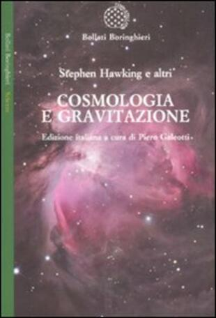 copertina Cosmologia e gravitazione