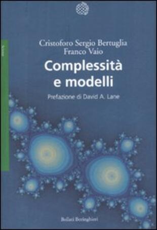 copertina Complessità e modelli