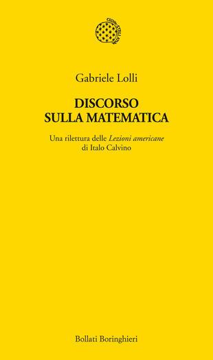 copertina Discorso sulla matematica