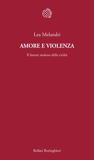 copertina Amore e violenza