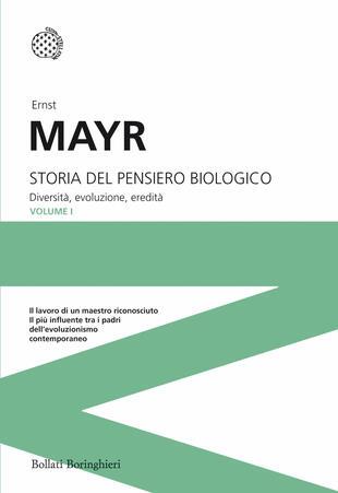 copertina Storia del pensiero biologico