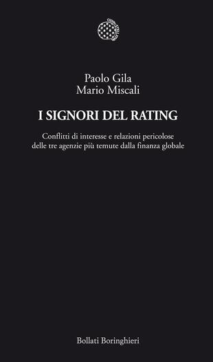 copertina I signori del rating