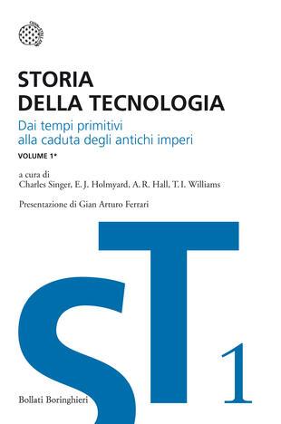 copertina Storia della tecnologia - Vol. 1/1