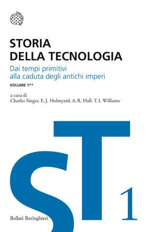 copertina Storia della tecnologia - Vol. 1/2