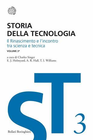 copertina Storia della tecnologia - Vol. 3/1