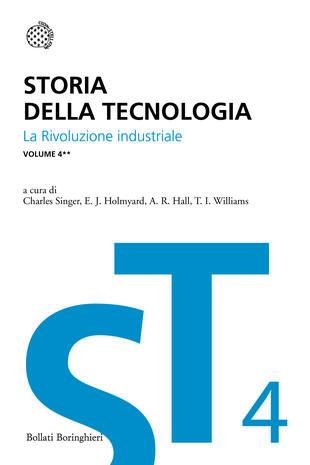 copertina Storia della tecnologia - Vol. 4/2