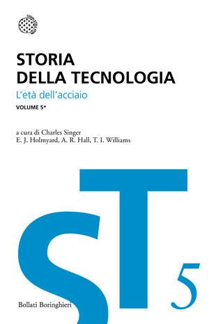 copertina Storia della tecnologia - Vol. 5/1
