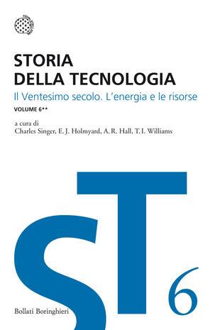 copertina Storia della tecnologia - Vol. 6/2