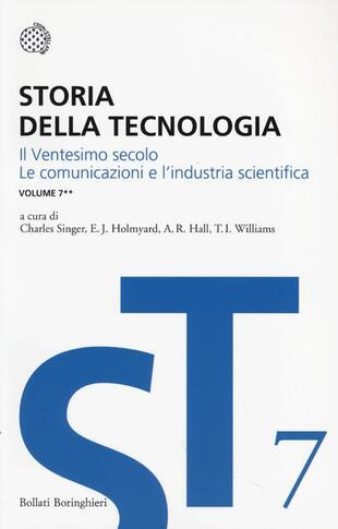 copertina Storia della tecnologia - Vol. 7/2