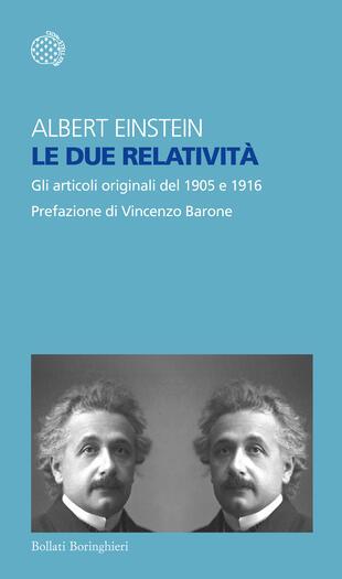copertina Le due relatività