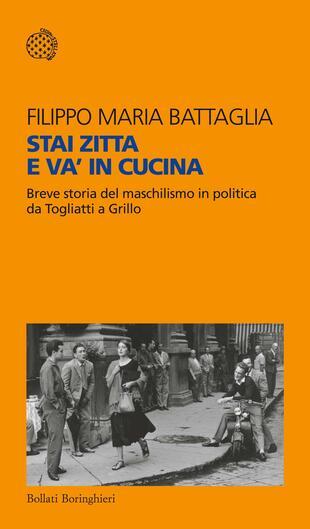 copertina STAI ZITTA E VA' IN CUCINA