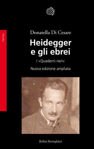 copertina Heidegger e gli ebrei
