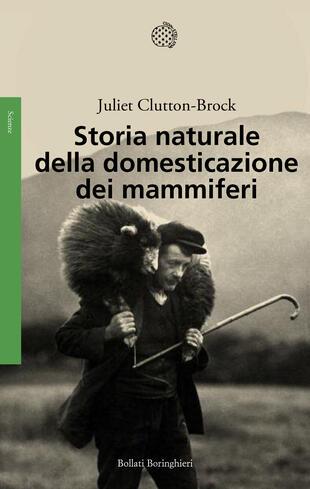 copertina Storia naturale della domesticazione dei mammiferi