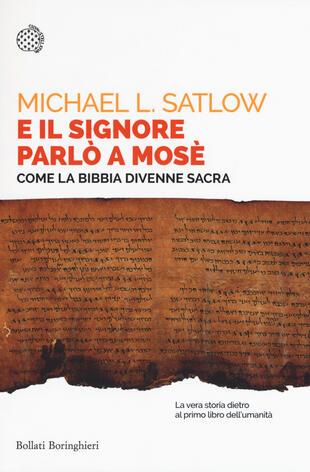 copertina E il Signore parlò a Mosè