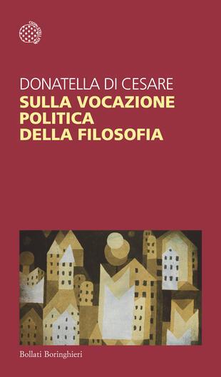 copertina Sulla vocazione politica della filosofia