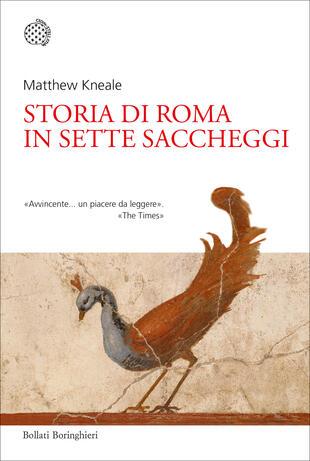 copertina Storia di Roma in sette saccheggi