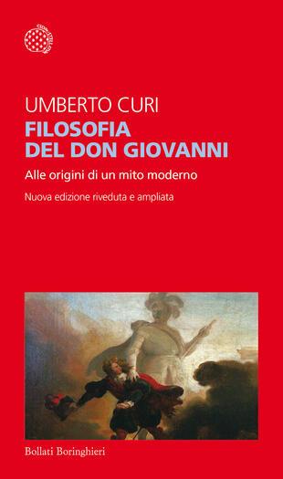 copertina Filosofia del Don Giovanni