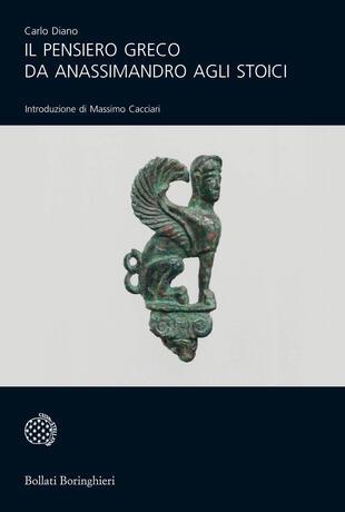 copertina Il pensiero greco da Anassimandro agli Stoici