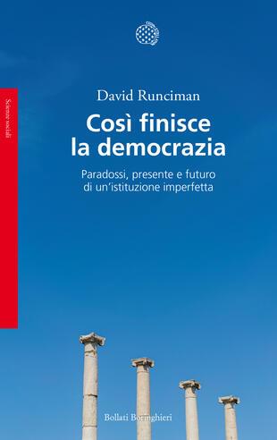 copertina Così finisce la democrazia