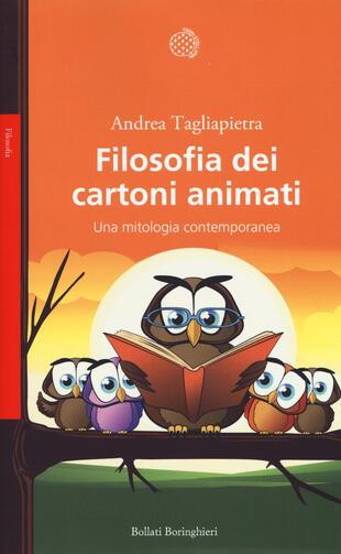 copertina Filosofia dei cartoni animati
