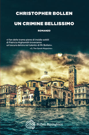 copertina Un crimine bellissimo