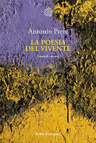 copertina La poesia del vivente