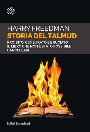 copertina Storia del Talmud