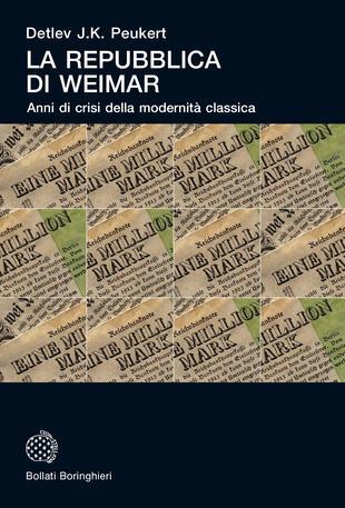 copertina La Repubblica di Weimar