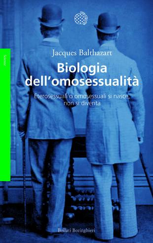 copertina Biologia dell'omosessualità