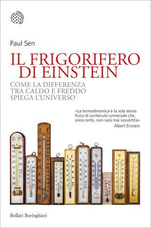 copertina Il frigorifero di Einstein